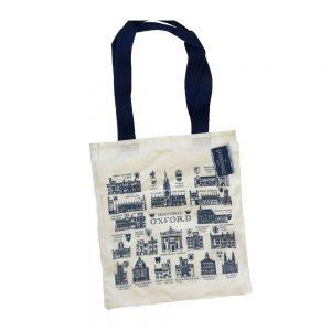 Oxford University Historical Tote Bag