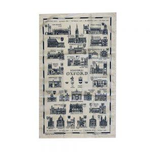 Oxford University Historical Teatowel
