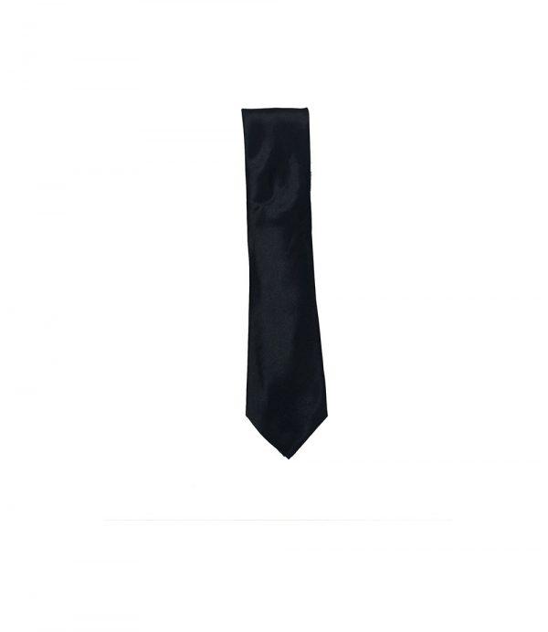 Straight Black Tie